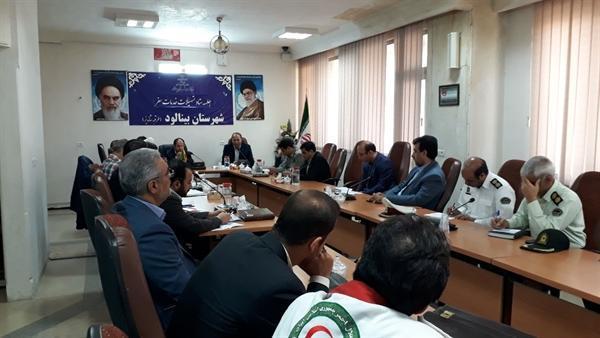 جلسه ستاد اجرایی خدمات سفر شهرستان طرقبه شاندیز برگزار گردید