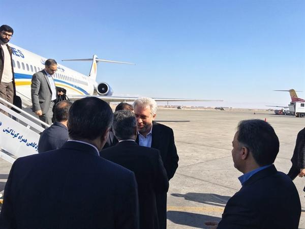 رئیس سازمان میراث فرهنگی وارد اصفهان شد