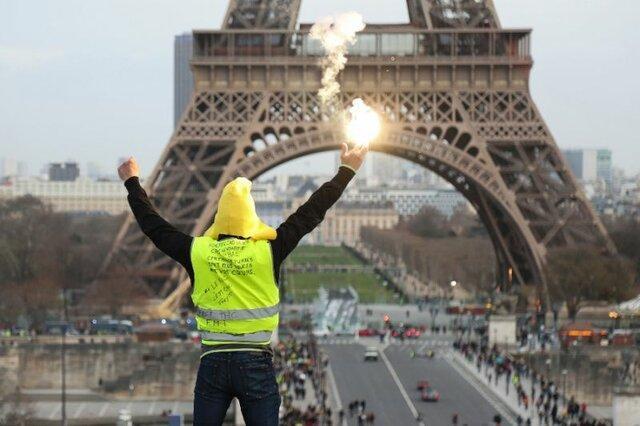 تظاهرات جلیقه زردها به هجدهمین هفته رسید
