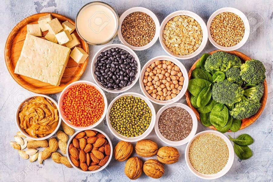 نکته بهداشتی: پروتئین برای گیاهخواران
