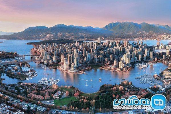 تفریح در ونکوور، شهر جزیره ای کانادا