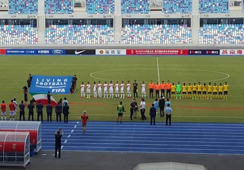 شکست تیم نوجوانان ایران مقابل مالزی در تورنمنت چین