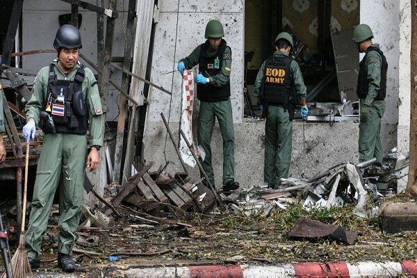 انفجار در تایلند، دست کم 7 نفر زخمی شدند