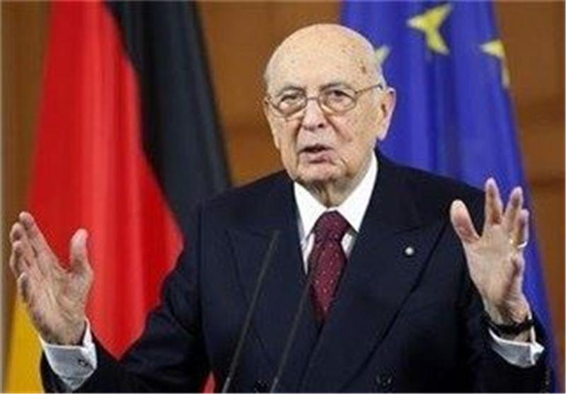 ناپولیتانو بازهم رئیس جمهور ایتالیا شد