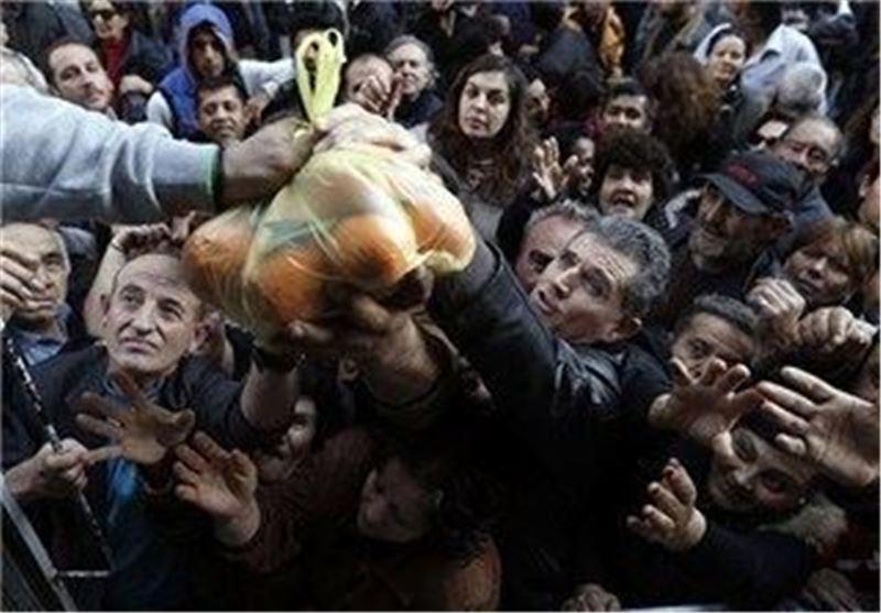 عمق بحران مالی - اجتماعی یونان