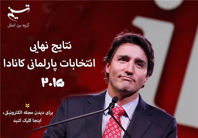 مجله الکترونیکی، نتایج نهایی انتخابات پارلمانی کانادا