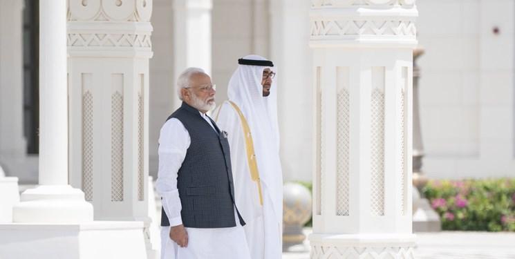 نخست وزیر هند با ولی عهد ابوظبی دیدار کرد