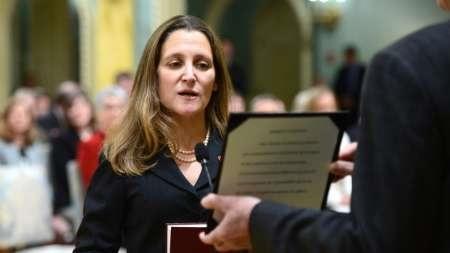 خبرنگار زنی که وزیر خارجه جدید کانادا شد