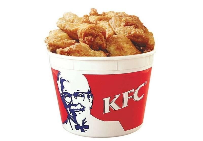 مرغ های سوخاری KFC عکس چاپ می کند