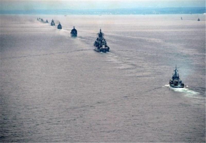 شروع مرحله فعال مانور دریایی مشترک روسیه و چین