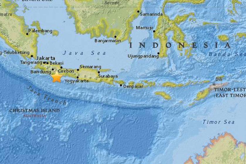 زلزله شدید در اندونزی با 2 نفر کشته