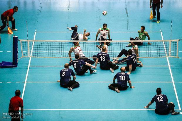 تیم والیبال نشسته مردان به نیمه نهایی رسید