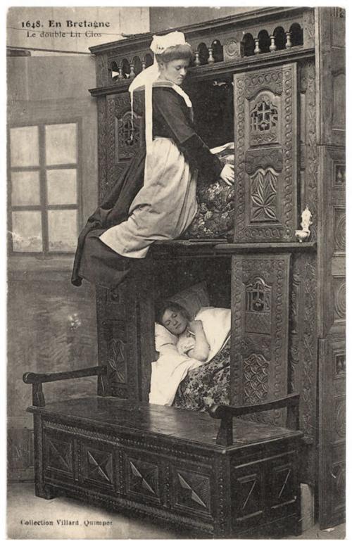 چرا اروپاییان قرون وسطی داخل جعبه می خوابیدند؟