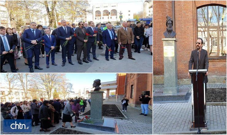 سردیس فردوسی در دانشگاه اوستیای شمالی روسیه نصب شد