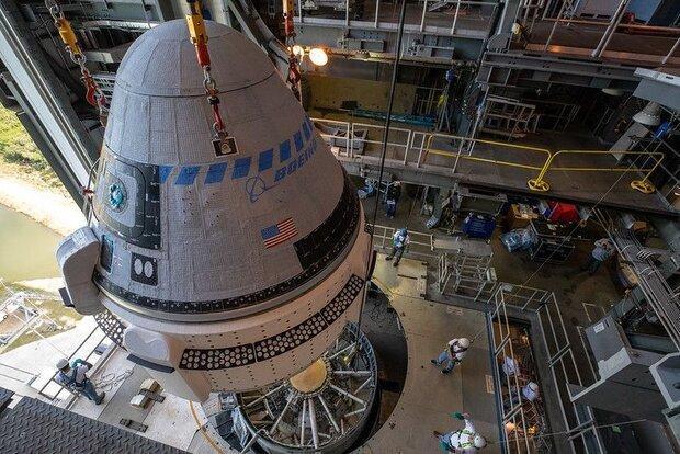 کپسول بوئینگ با تاخیر به فضا پرتاب می گردد