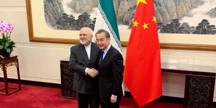 امیدواری ظریف به توسعه شراکت راهبردی ایران و چین در سال 2020