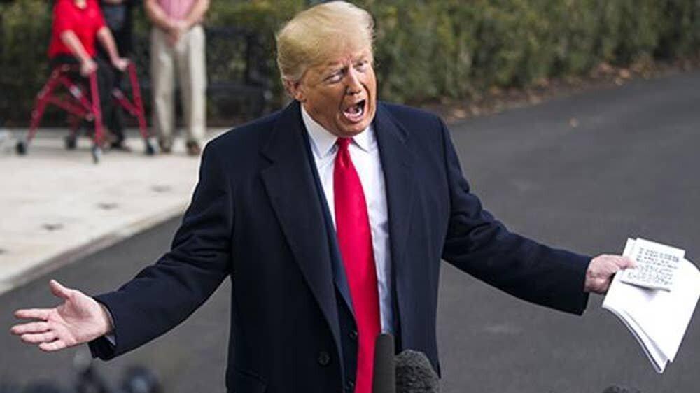 ترامپ: استیضاح به خاطر یک تماس تلفنی فوق العاده، وحشتناک است