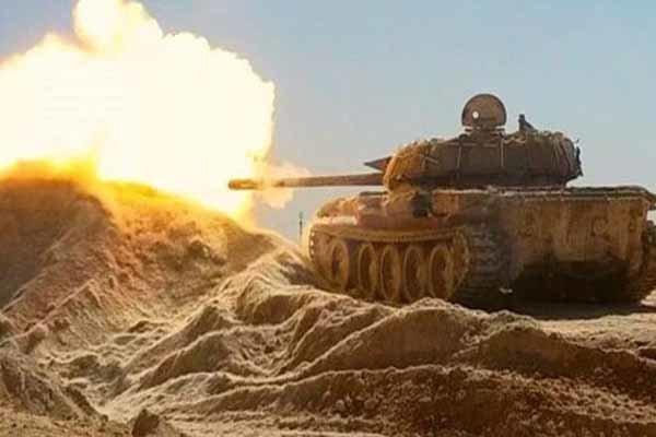 کشف و ضبط تسلیحات تکفیری ها در حومه حمص