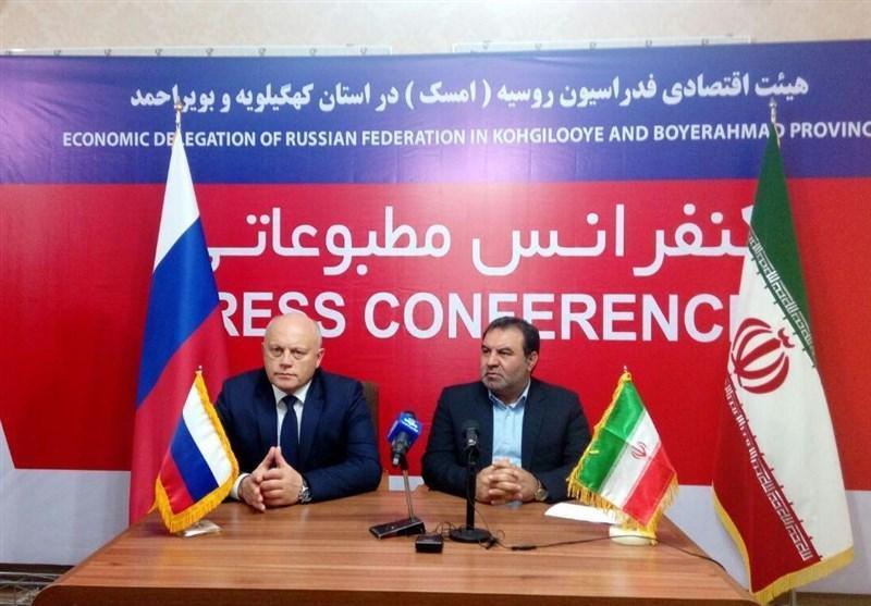 استاندار ایالت امسک روسیه: همکاری روسیه با کهگیلویه و بویراحمد در زمینه گردشگری افزایش می یابد