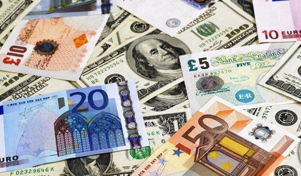 نرخ رسمی انواع ارز اعلام شد ، کاهش قیمت یورو و پوند