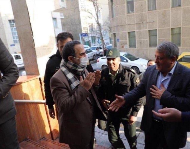 توئیت جدید محسن هاشمی درباره روبوسی و دست با شهردار منطقه 13