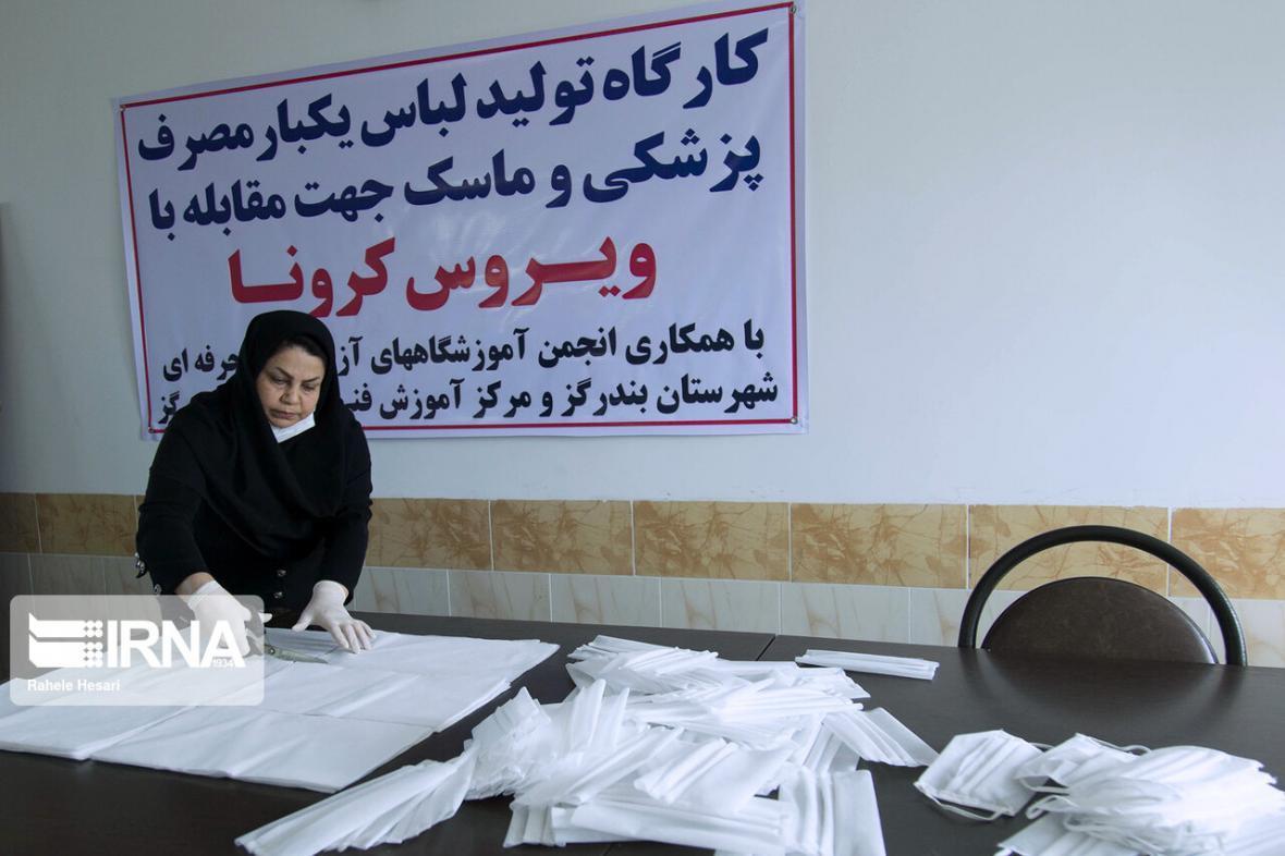 خبرنگاران توزیع پنج هزار و 500 عدد ماسک در مناطق محروم الشتر