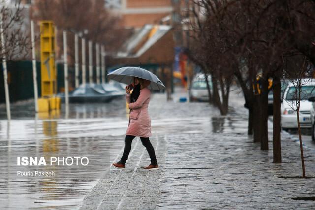 بارش باران در 18 استان کشور، حجم بارش ها کم تر از سیل اخیر است