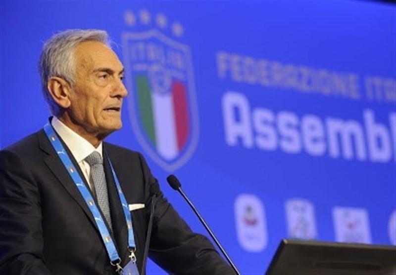 گراوینا: در صورت مختومه شدن فصل، فوتبال ایتالیا می میرد