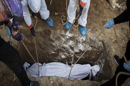 دفن 234 بیمار مبتلا به کرونا طی دو روز گذشته در بهشت زهرا(س)، احتمال برپایی دوباره بیمارستان های موقت