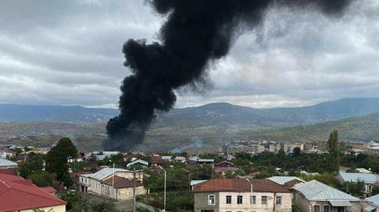 20 حمله توپخانه ای باکو به مرکز قره باغ ، جمهوری آذربایجان: ارمنستان به خاک ما حمله موشکی کرد