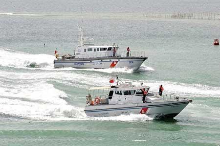 توقیف 2 قایق بحرینی توسط گارد ساحلی قطر