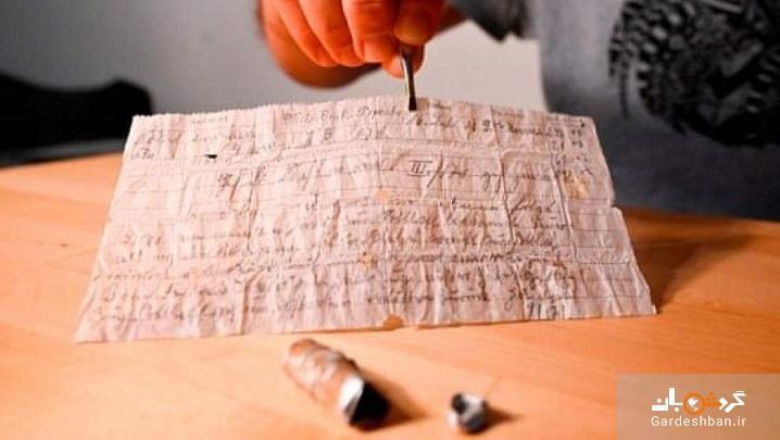 عکس، نامه صدساله کبوتر نامه رسان کشف شد