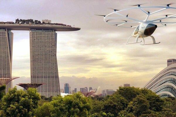 پروازهای جهانگردی در سنگاپور با تاکسی هوایی
