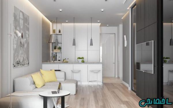 معرفی بهترین رنگ ها در طراحی خانه کوچک