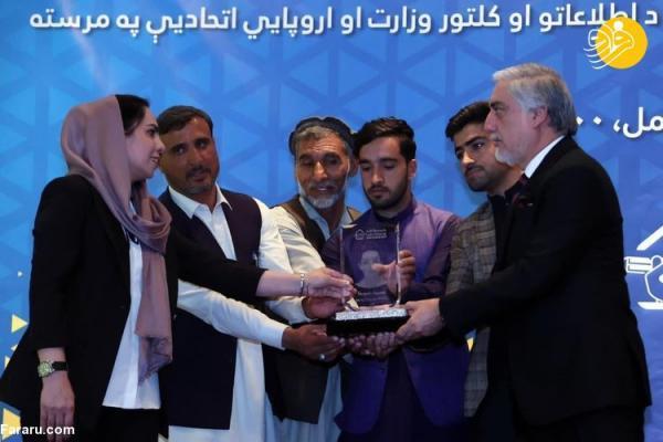 (تصاویر) بهترین خبرنگار سال 1400 در افغانستان