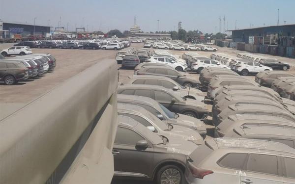 2100 خودرو در گمرک ها مانده اند