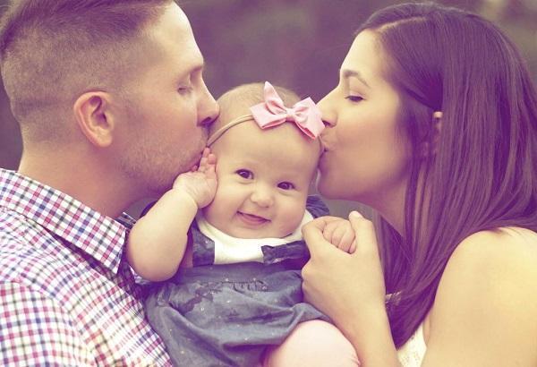 دل نوشته تبریک روز دختر از طرف پدر و مادر