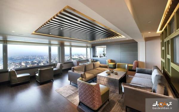 مارمارا تکسیم استانبول(The Marmara Taksim Istanbul)؛ از هتل های لوکس و 5 ستاره شهر