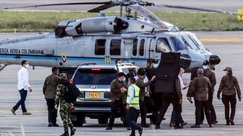 سوء قصد به جان رئیس جمهوری کلمبیا