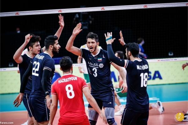 برد راحت ایران مقابل بلغارستان