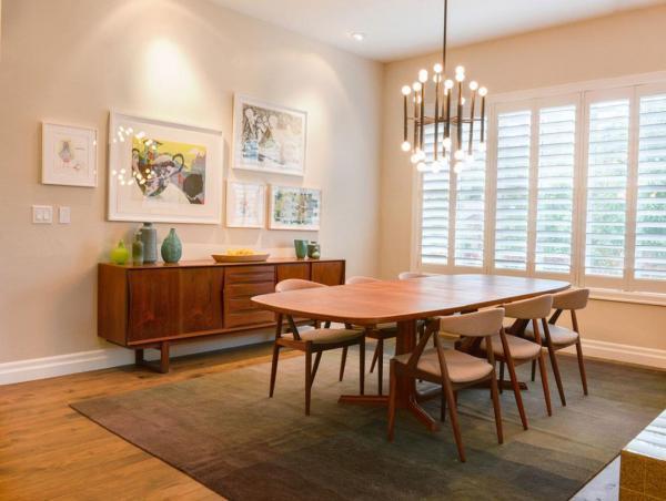 چطور رنگ در و دیوار و وسایل را با رنگ و تناژ وسایل چوبی خانه هماهنگ کنیم؟