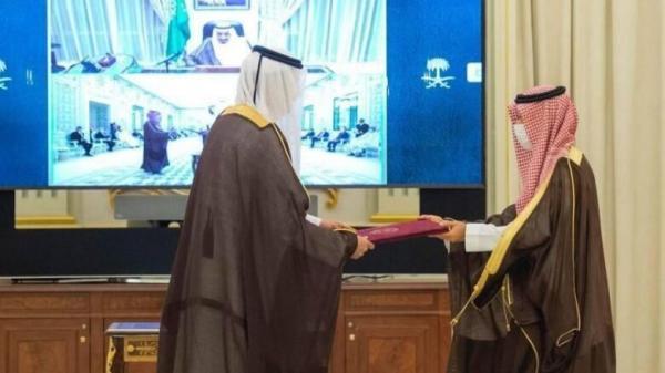تور ارزان قطر: سفیر قطر در ریاض استوارنامه خود را تحویل داد